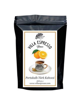 Villa Espresso Portakallı Türk Kahvesi TKPOR200GP02