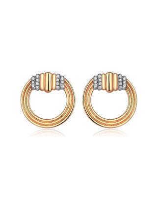 Sim and Roz Spiral Küpe CYCE14-00210-117