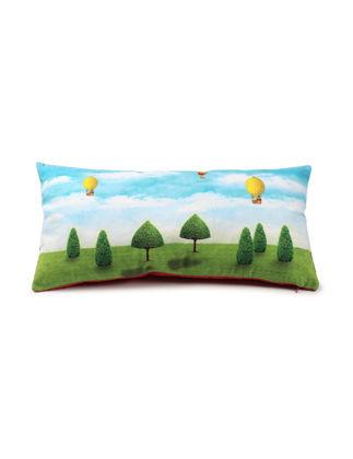Pip Studio Yastık Ağaç Desenli Mavi / Yeşil 51040123