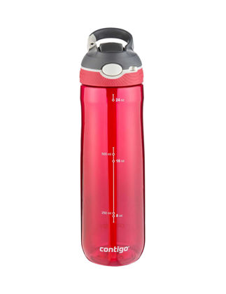 Contigo Ashland Kırmızı 720 ml 24 Oz Autospout Tritan Su Matarası 2108998