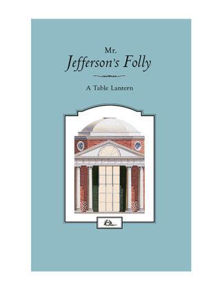 Architectural Watercolors Mr. Jefferson's Folly - Tea Light Mumluk Dekoratif 01065