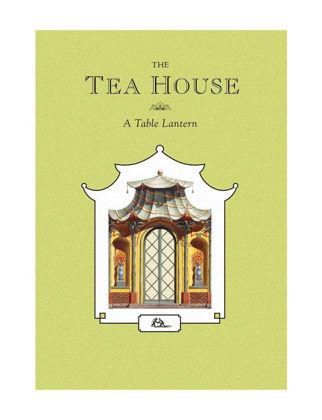 Architectural Watercolors The Tea House - Tea Light Mumluk Dekoratif 01066