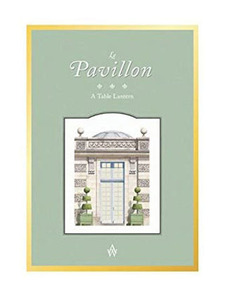 Architectural Watercolors Le Pavillon - Tea Light Mumluk Dekoratif 01108