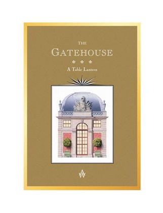 Architectural Watercolors The Gatehouse - Tea Light Mumluk Dekoratif 01109