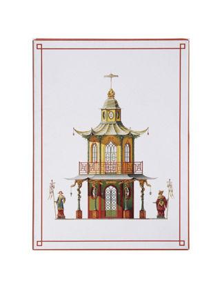Architectural Watercolors Pagodas - Kartpostal Seti 01067