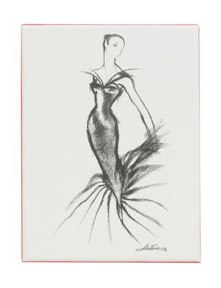 Metropolitan Museum of Art Charles James : Beyond Fashion - Fashion Illustrations - Kartpostal Seti 01140