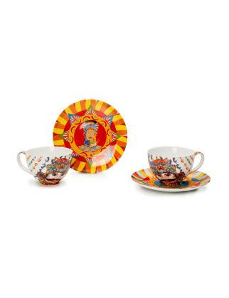 Lamart Mediterrano Porselen İkili Çay Fincanı Seti 37129