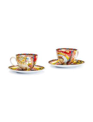 Lamart Rosalia İkili Porselen Çay Fincanı Seti 16 cm 36898