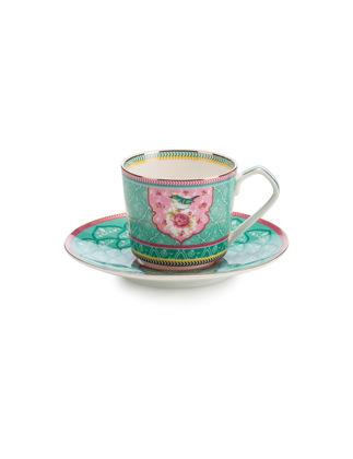 Lamart Peri Masalı Yeşil Çay Fincanı 16 cm 36511