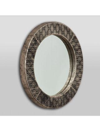 Estetik Decor Deri Ayna Tenor Maxi Kalemety MDA-000152