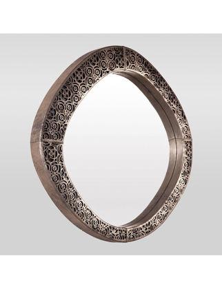 Estetik Decor Deri Ayna Midura Chamber MDA-000129