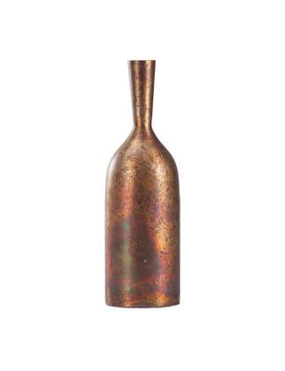 Estetik Decor Dekoratif Vazo Aluminyum Bakır Kaplama Şişe Formlu JOEJO-03065