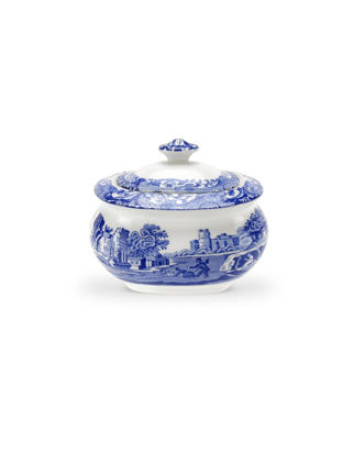 Spode Blue Italian Şekerlik RW.BLI.1630
