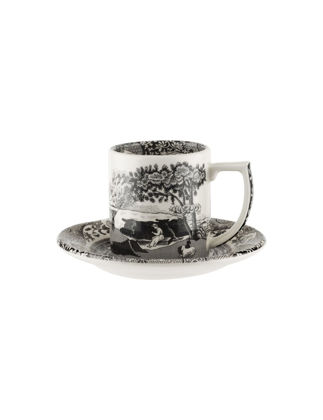 Spode Black Italian Espresso Fincanı RW.BKI.04030