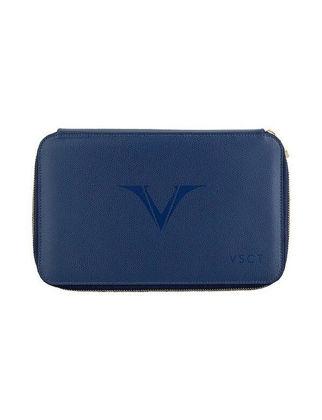 Visconti Deri Kalem Kılıfı 12'li Mavi KL11-02