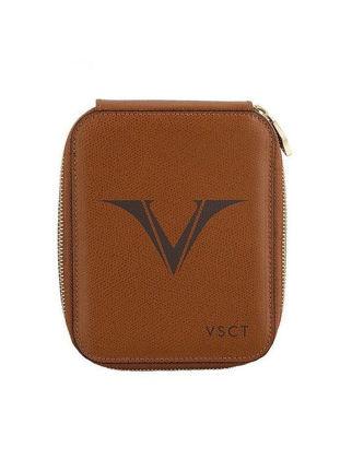Visconti Deri Kalem Kılıfı 6'lı Kahverengi KL09-04