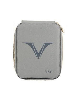 Visconti Deri Kalem Kılıfı 6'lı Gri KL09-03