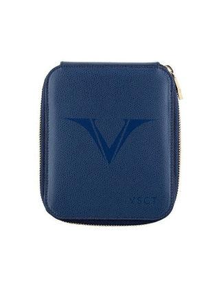 Visconti Deri Kalem Kılıfı 6'lı Mavi KL09-02