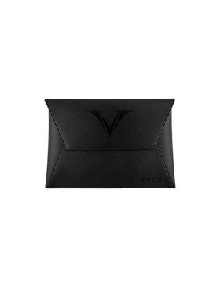 Visconti Deri Büyük Kartlık A4 Siyah KL02-01