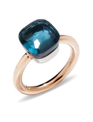 Pomellato Nudo Calssic London Blue Yüzük PAA1100O6000000TL