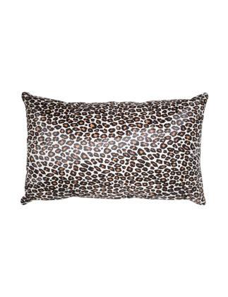 Anvogg 35 x 55 cm Woolen Leather Decorative Pillow CPLEO1015BL3555