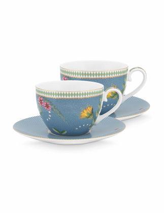 Pip Studio La Majorelle İkili Mavi Çay Fincanı Seti 280 ml 51004111