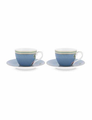 Pip Studio La Majorelle İkili Mavi Kahve Fincanı Seti 120 ml 51004110