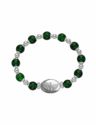 Valael Yeşil Melekli Bileklik  Valael-mm682-M