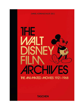 Taschen Disney Archives Movies 1 40th Anniversary Edition 9783836580861