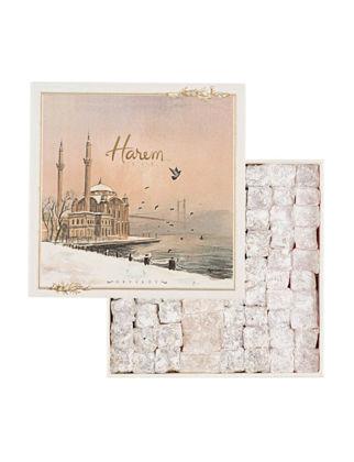 Harem Chocolate 4'lü Lokum Ortaköy Kutuda 500 gr 8681807030210