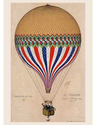 Sauca Collection Balon Tricolore A2 TRA008