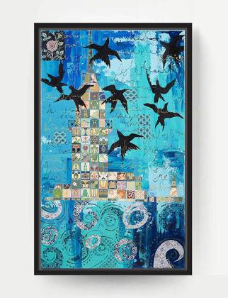 Lovinart Maiden Tower & Swallows by Evren Sezgin Türkiye L-004