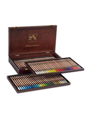 Caran Dache Pastel Pencil 84'lü Ahşap Set 788.484