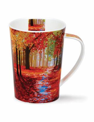 Dunoon Mug Ağaçlı Orman Kırmızı DUH.MUG.WOOP.RE
