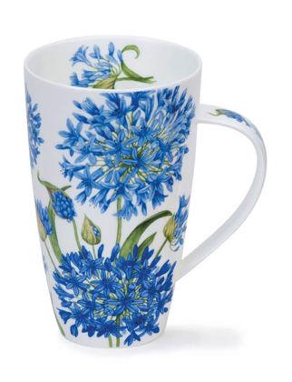 Dunoon Mug Agapanthus Mavi Çiçek Henley DUH.MUG.AGAP