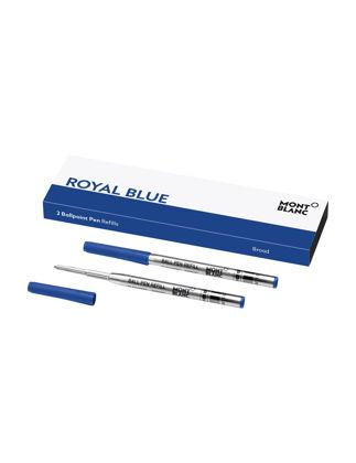 Montblanc 2'li Tükenmez Kalem Yedeği Broad Royal Blue 128215