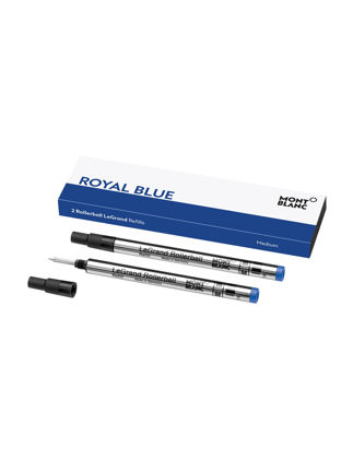 Montblanc 2'li Rollerball Legrand Yedeği Medium Royal Blue 128228
