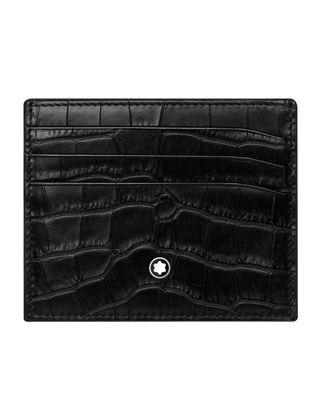 Montblanc Meisterstück Selection Siyah Kartlık 6cc 126649