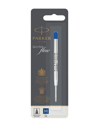 Parker PK Tükenmez Kalem Refill, BLS, M Uç, Mavi 1950371