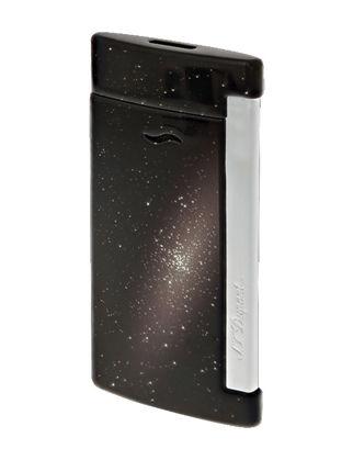 S.T. Dupont Uzay Siyah Slim Çakmak 27220