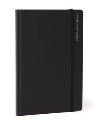 Pininfarina Stone Paper Defter Çizgili Siyah PNF1421RUBK