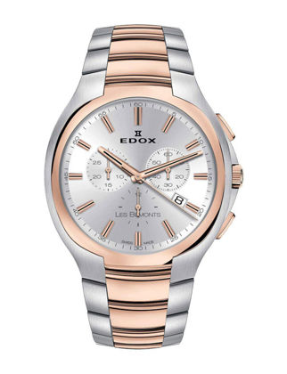 Edox Les Bémonts Ultra Slim Chronograph 10239-357R-AIR