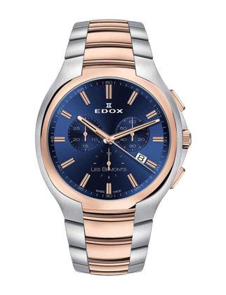 Edox Les Bémonts Ultra Slim Chronograph 10239-357R-BUIR