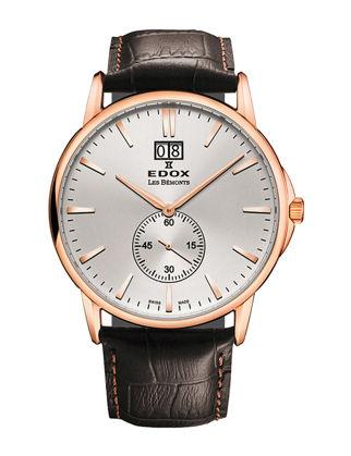 Edox Les Bémonts Big Date 64012-37R-AIR