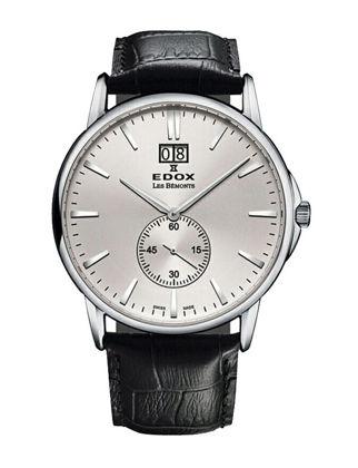 Edox Les Bémonts Big Date 64012-3-AIN