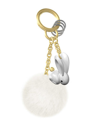 Metalmorphose Tavşan Ponponlu Anahtarlık MTM186-01