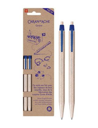 Caran D'ache Mavi Tükenmez Kalem - Recycle İki Bilister 825.362