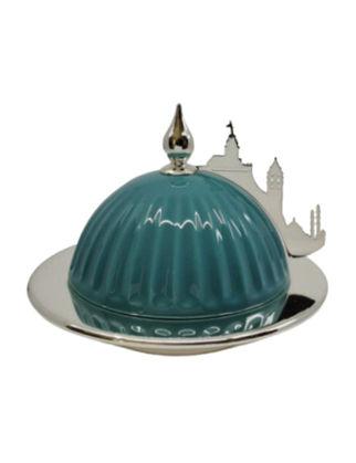 Anatoli Sahan Kubbe Küçük Boy Gümüş Kaplama İstanbul Silüeti 8680571849882