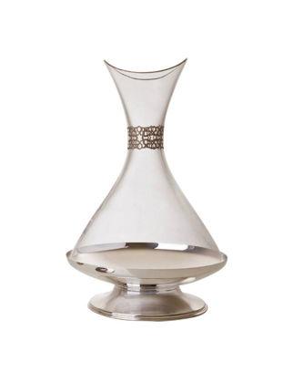 Anatoli Selçuki Karaf Gümüş Kaplama Platin Dekor 8680571800975