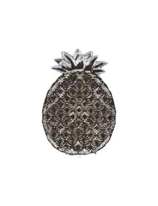 Anatoli Tabak Ananas Büyük Boy Gümüş Kaplama 8680571852752